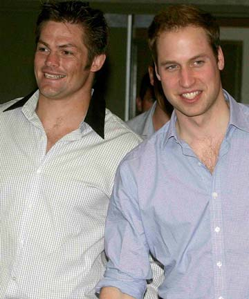 Richie McCaw, Prince William