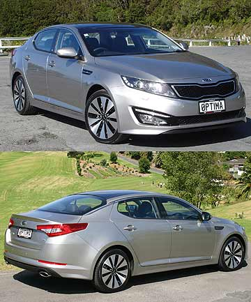 The Kia Optima.