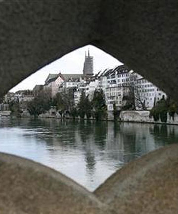MODERN PIZZAZ AND HISTORICAL GRANDEUR: The Swiss town of Basel on the Rhine River.