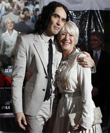 young russell brand in laden. Young Russell Brand; Young Russell Brand in laden. Russell Brand and Helen Mirren; Russell Brand and Helen Mirren