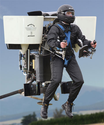 LIFTOFF: The Martin Jetpack is now in the final stages of development.
