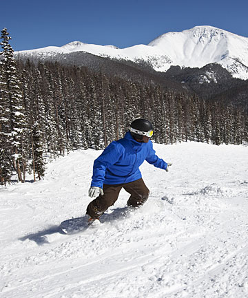 POWDERED: Colorado's skifields are vast, with champagne powder and tree-skiing like nothing New Zealand can offer.