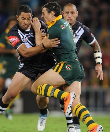 Benji Marshall and Billy Slater