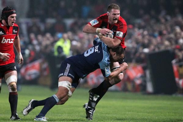 Crusaders v Blues
