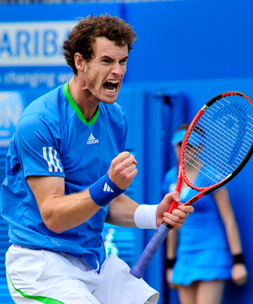 andy murray queens trophy. Andy Murray. Getty Images
