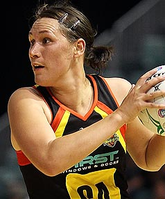 Waikato-Bay of Plenty Magic netball player Jodi Brown