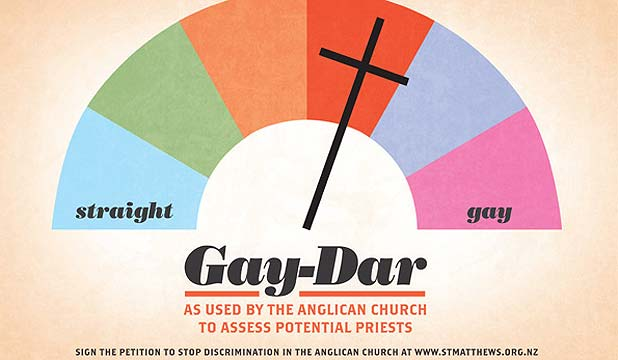 Gay-dar billboard