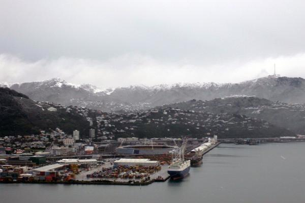 Snow in Wellington