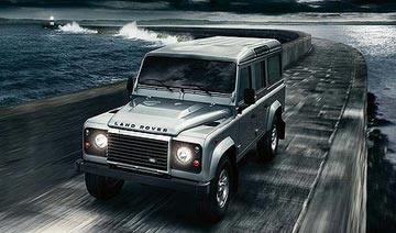 Land Rover's Defender.