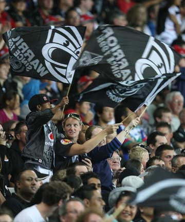 Warriors at Eden Park