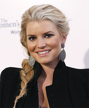 KNEE-JERK REACTION? Jessica Simpson announced she would marry Eric Johnson within days of ex-husband Nick Lachey's engagement to Vanessa Minnillo.