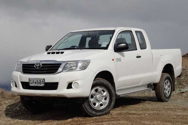 The extra cab diesel model is the only new addition to the HiLux range.