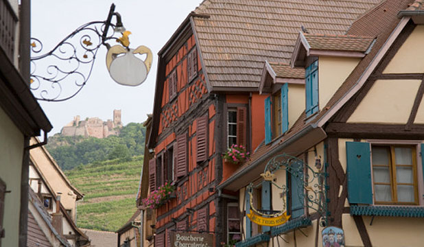 The cultural swirl of Alsace