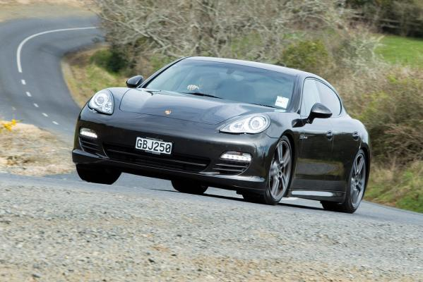 Panamera in action.