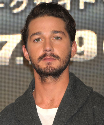 BRAWLER: Shia LaBeouf was allegedly involved in a street brawl in Vancouver.