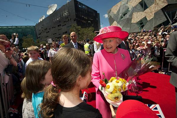 The Queen in Australia