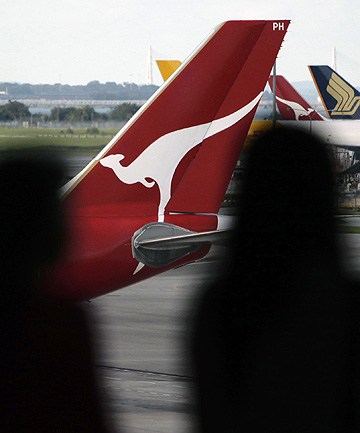 SHOCK MOVE: Chief executive Alan Joyce stunned the aviation world on Saturday with his decision to indefinitely ground the main Qantas brand with immediate effect.