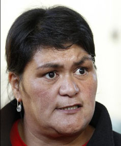 Concerned: Waikato will be unrepresented at the Cabinet table if National wins a second term, Labour's Nanaia Mahuta says.