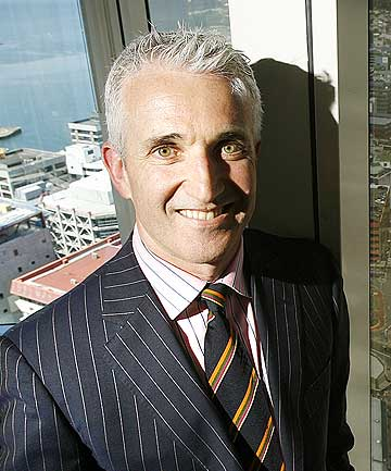 Air New Zealand CEO and pin-up boy Rob Fyfe