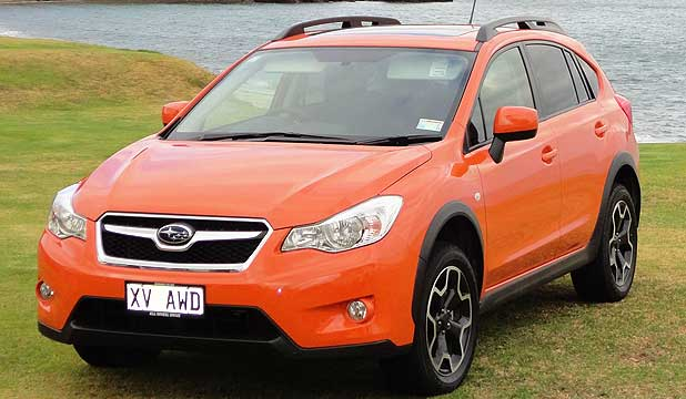 Subaru XV: That's not '15' by the way, though the car does look rugged enough to play rugby.