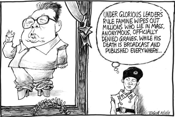 Tom Scott - Kim Jong-il