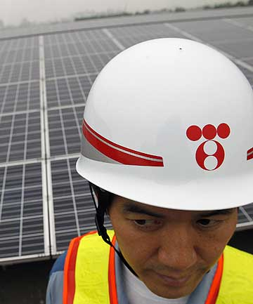 LIGHT YEARS AHEAD: Japan's turn away from increasing nuclear power means the way is being cleared for more use of solar power and the same could happen in New Zealand.