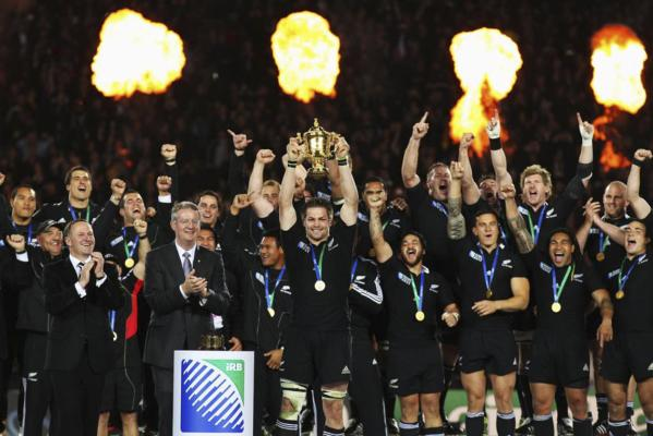 All Blacks win RWC