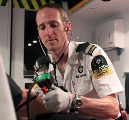 St John Ambulance photo essay