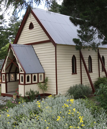 St Patrick's Union Church at Burkes Pass