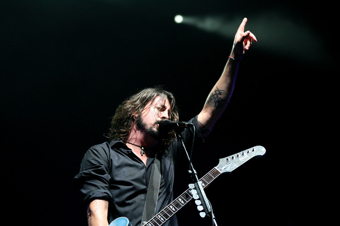 Foo Fighters Concert In Auckland