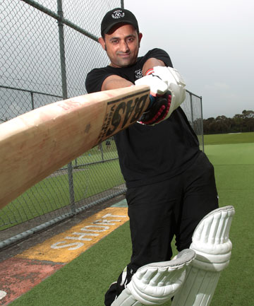 United's Sonpreet Singh, a former Indian University player, is in hot form this season in Manawatu club cricket.