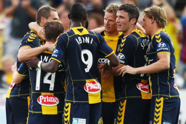 Central Coast Mariners v Phoenix, Gosford, Feb 18