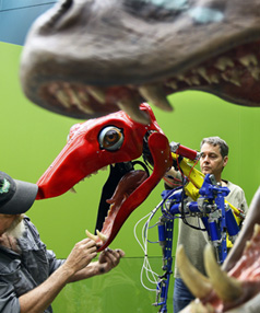 POPULAR PREHISTORICS: Monsters are being brought to life for an exhibition at Waikato Museum.