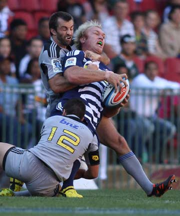 Conrad Smith and Schalk Burger