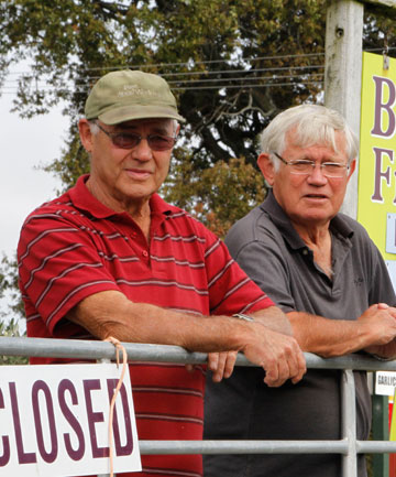 Brothers Alan and Peter Field, of Berry Fields, which will close down.