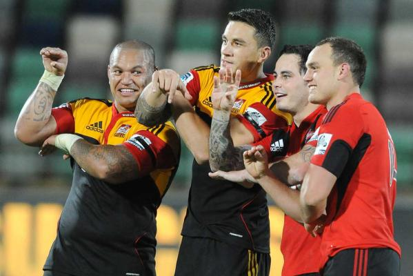 Chiefs v Crusaders gallery