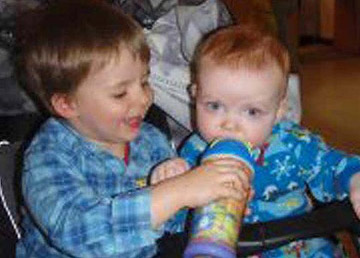 Connor and Jayden McConnell.