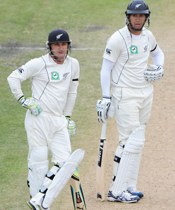 Brendon McCullum and Ross Taylor