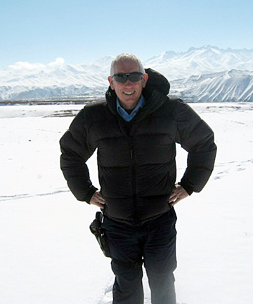 Nelson police inspector Brian McGurk. The harshness of the winter and the physical isolation of Bamiyan from the rest of Afghanistan has been a vastly different experience from a Nelson winter.