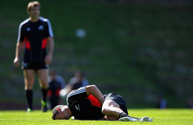 Dan Carter injured