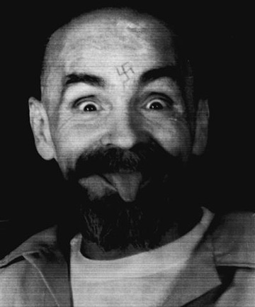A 1989 file photo of Charles Manson.