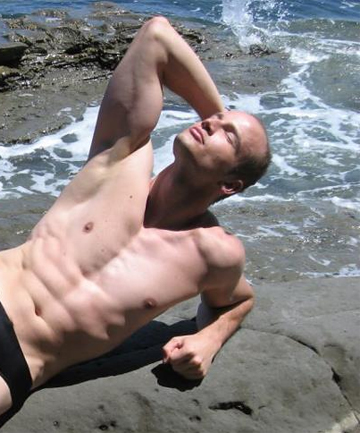 Mr Gay World, Andreas Derleth, who represented New Zealand.