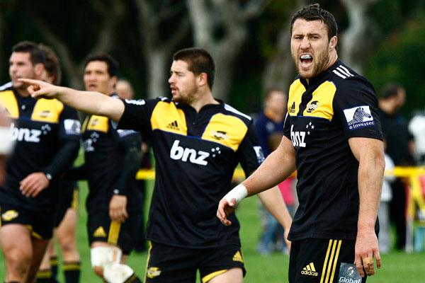 Hurricanes train at Hutt Rec