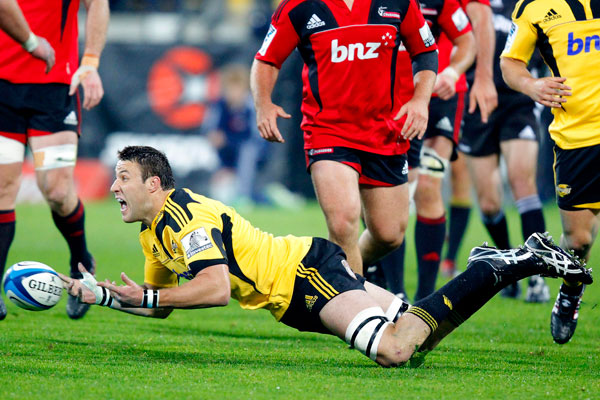 Hurricanes vs Crusaders