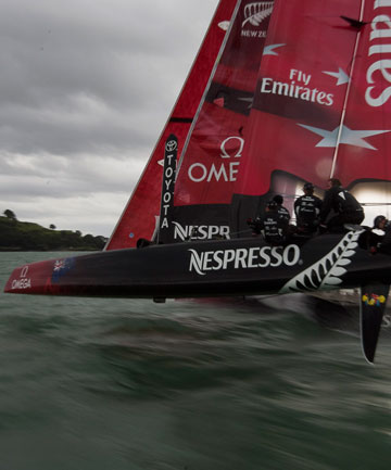 Team NZ AC72