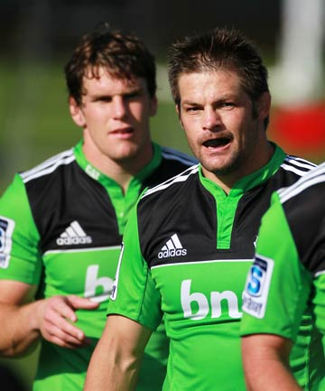 Matt Todd and Richie McCaw