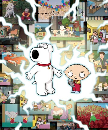 Brian and Stewie Griffin
