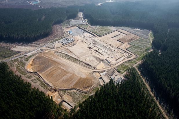 MAJOR DEVELOPMENT: An aerial view of the Ngatamariki geothermal site where a power plant is under development.