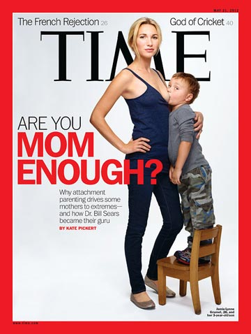 Time Magazine attachment parenting cover
