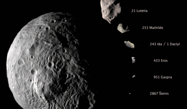 The Vesta asteroid